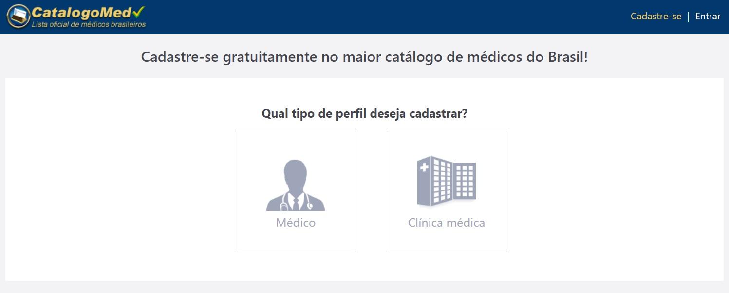 Catálogo Med - Como funciona para Médicos