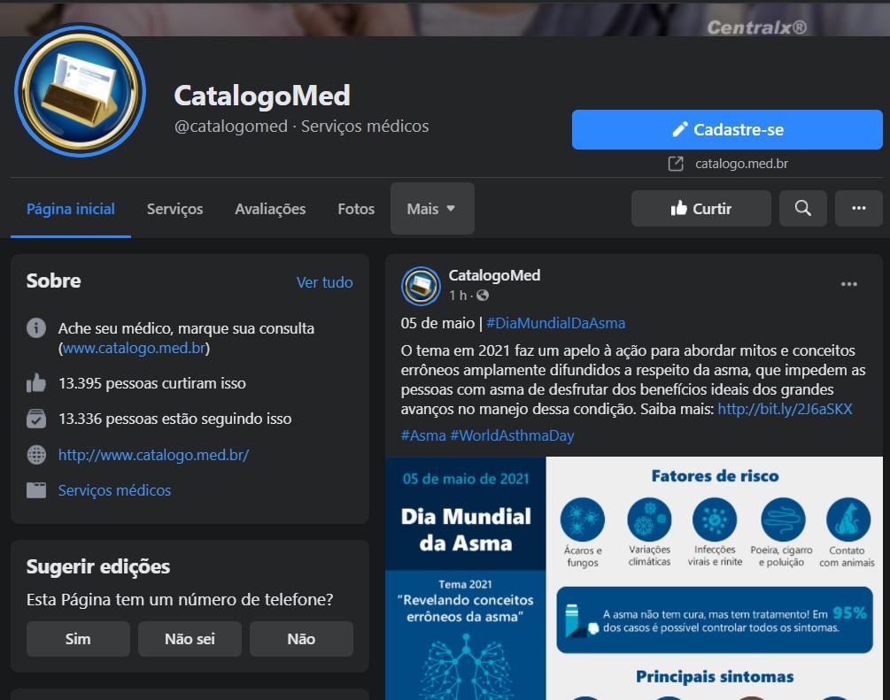 Catálogo Med - No Facebook