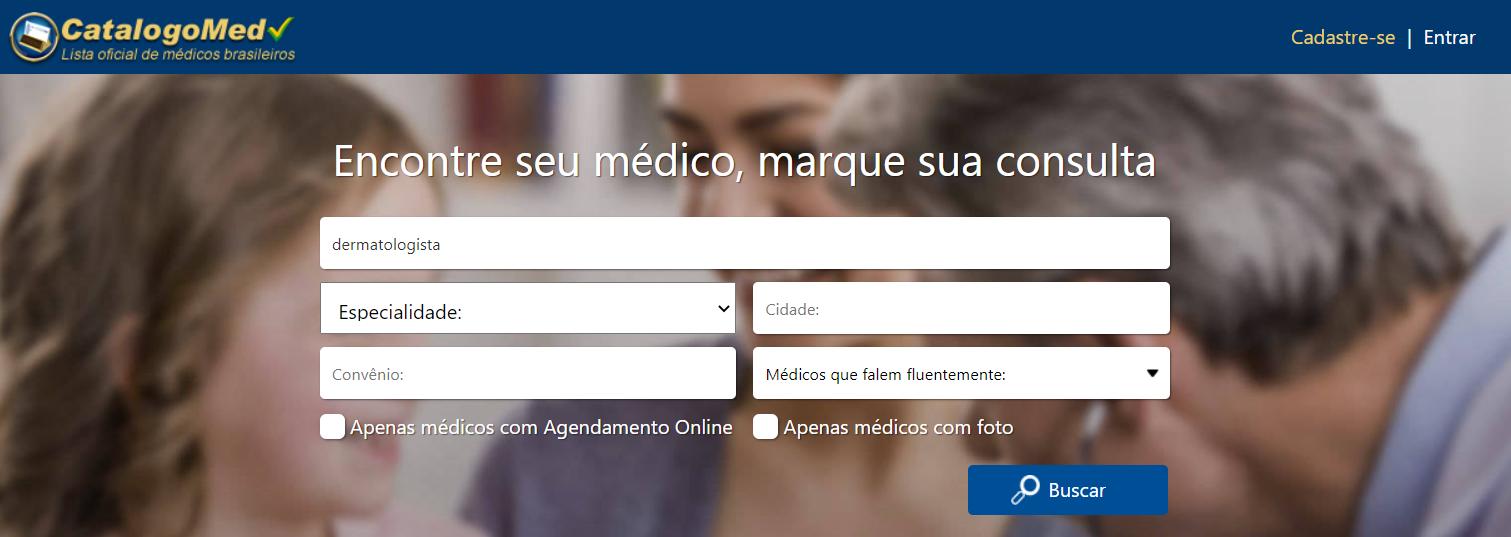 Catálogo Med - Busca Avançada